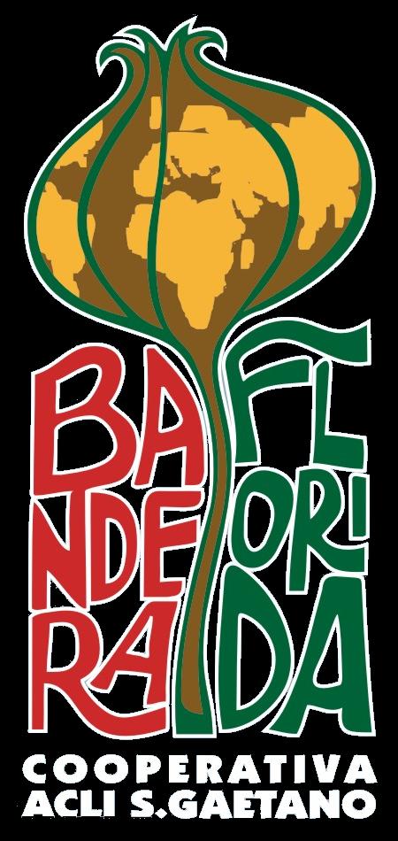 Bandera Florida Cooperativa Acli San Gaetano