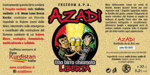 Azadì una birra chiamata Libertà