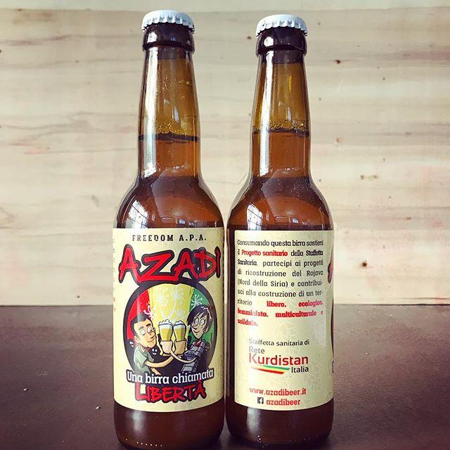 Azadì birra chiamata libertà