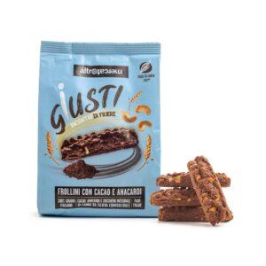 Biscotti cacao e anacardi